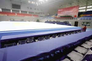 北科大体育馆正式启用(来源:京华时报)
