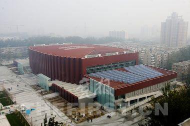 科技大学柔道馆外景