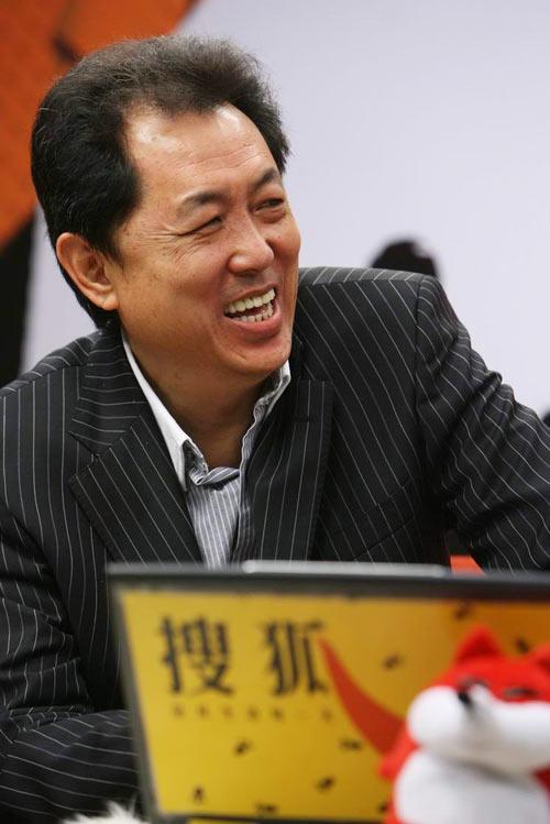 图:《大灌篮》官网启动-谈到高兴处放声大笑