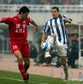 图文:[中超]陕西VS河南 鲁尼先出一脚