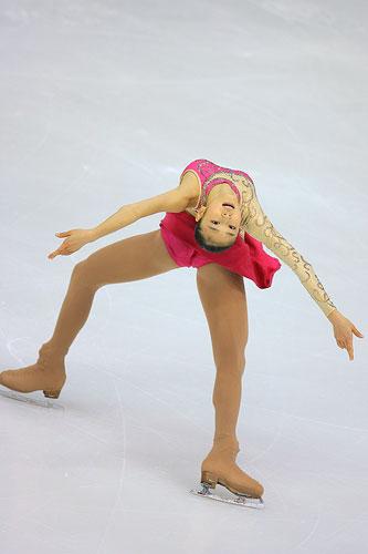 中国杯花滑赛 女单韩国选手金妍儿夺得冠军