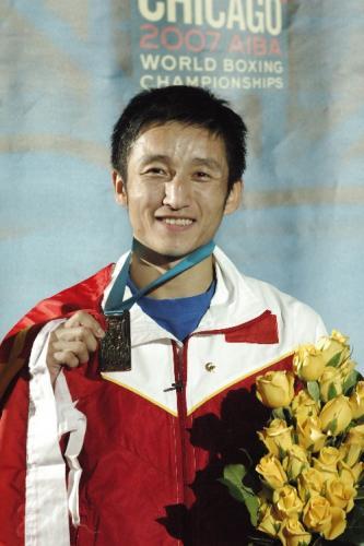 卫冕冠军邹市明又荣膺惟一最佳运动员
