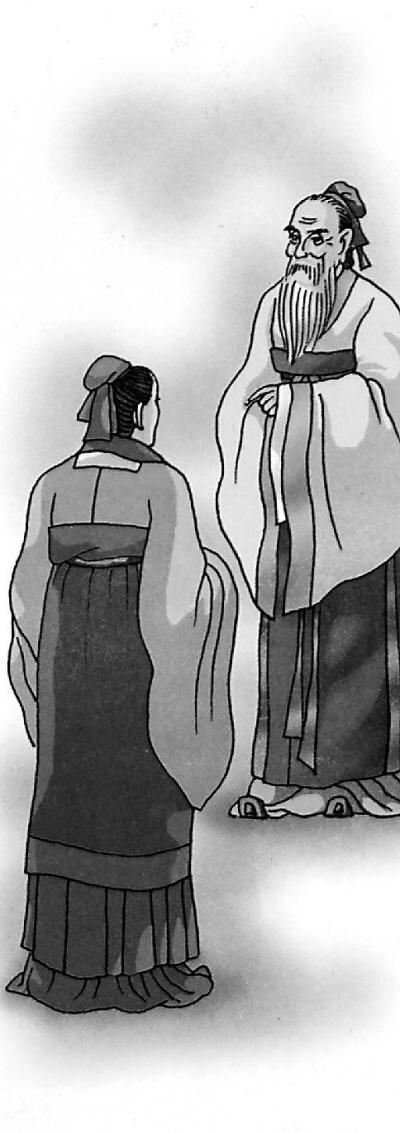 子贡问孔子_不耻下问(成语故事)(图)