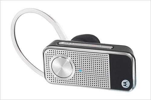 小贝倾力代言 摩托罗拉H12蓝牙耳机发布