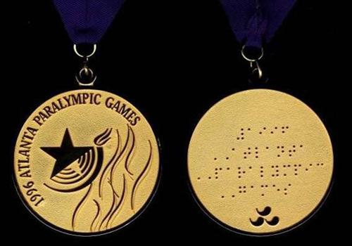 资料:1996年亚特兰大第十届夏季残奥会奖牌