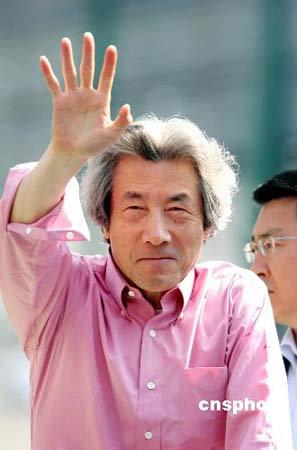 日本前首相小泉纯一郎。 中新社发 Ic/cnsphoto 摄