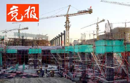 2005年12月国家体育馆工程开始进行地面施工