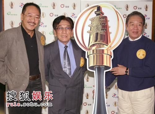 公广集团傅雷(左起)、康丁、丁强入围金钟奖。