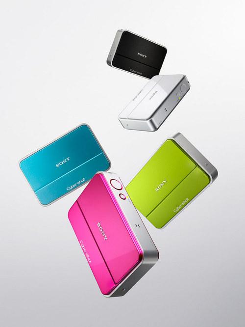 内置4GB存储空间 索尼时尚卡片机T2上市