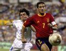 图文:劳尔国家队经典回顾 友谊赛战希腊创历史