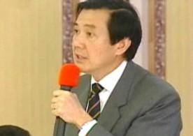 一见到商界人士,马英九忍不住要提台湾经济问题,情绪格外激动。