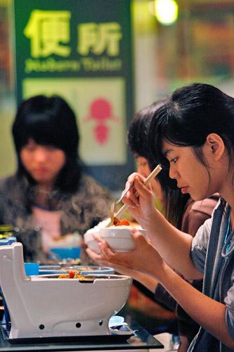 台北厕所主题餐厅