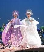 资料图片:国家大剧院演出-梁山伯与祝英台