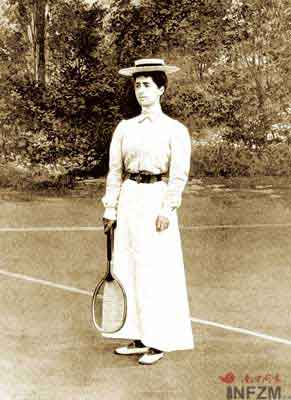 1900年巴黎奥运会上首次出现女运动员
