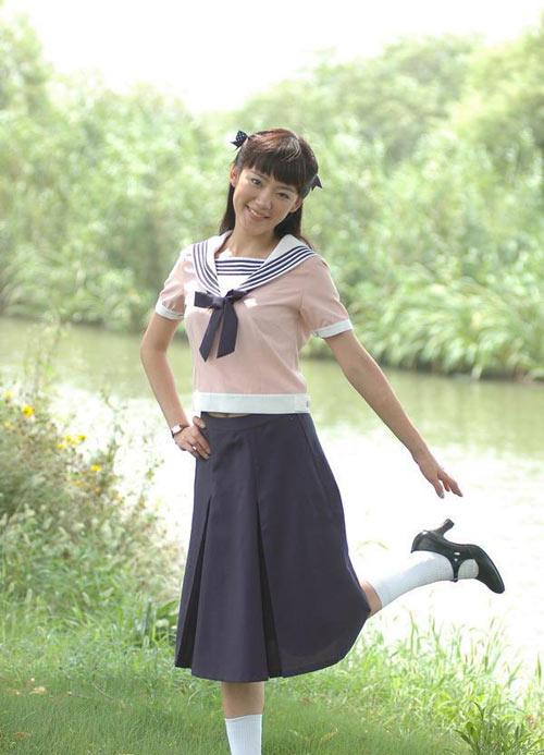 台湾女演员裴琳在内地热播剧集《北平小姐》中饰演桃金梅