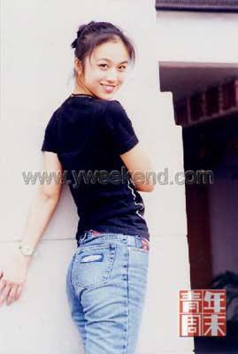 ■汤唯19岁时竺明先生亲自为她拍摄的照片 ◎供图/竺明-汤唯 伯乐 谈出