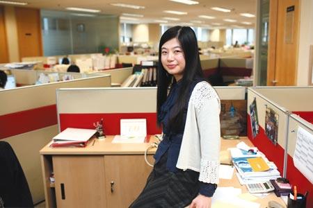 礼来公司上海代表处品牌经理吴菲(关海彤 摄)