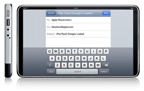 绝美全触摸屏幕!惊现苹果iPadTouch