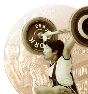 曾国强获举重52公斤级冠军