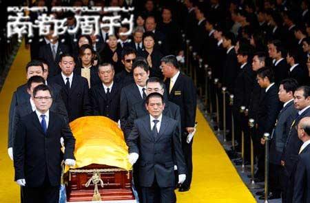 竹联帮赵尔文_特别讲述:黑帮大佬的葬礼