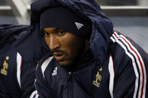 图文:[热身赛]法国2-2摩洛哥 阿尼尔卡苦等机会