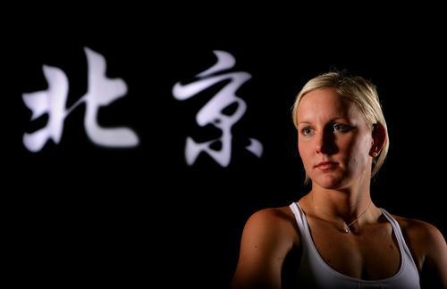 美国众明星拍摄写真 期盼2008北京奥运
