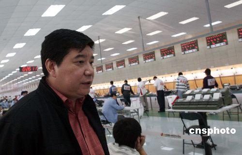 已经是国家射击队总教练的王义夫