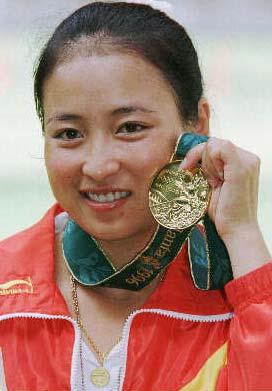 1996奥运会冠军李对红