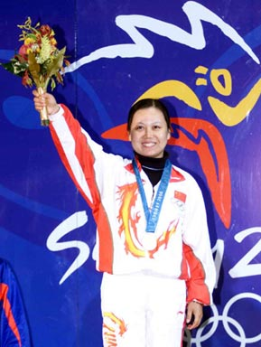 悉尼奥运会冠军陶璐娜