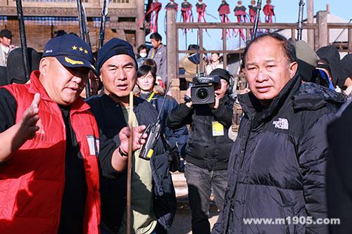 图:直击《赤壁》拍摄现场 吴宇森指挥若定