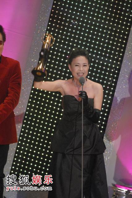 江淑娜获歌唱综艺节目主持人奖