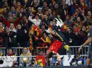 图文:欧预赛西班牙3-0瑞典 皇马主场随意庆祝