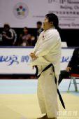 图文:2007柔道团体世锦赛 佟文赛后笑容甜蜜