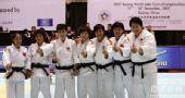 图文:2007柔道团体世锦赛 中国队夺冠后合影