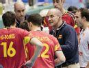 图文:[男排世界杯]第一日 西班牙主帅门德兹