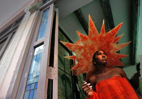 哈瓦那环保时装秀