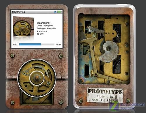 蒸汽时代iPod皮肤