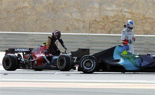 图文:[F1]07赛季巴林站回顾 巴顿和斯皮德退出