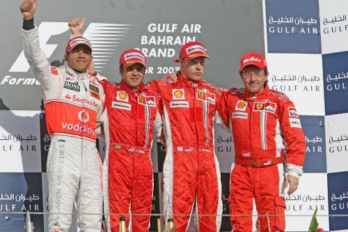 图文:[F1]07赛季巴林站回顾 领奖台上的车手