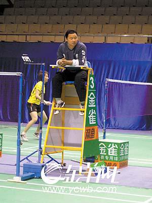 昨天19时,距中国羽毛球公开赛还不到24小时,印尼名将陶菲克向组委会图片