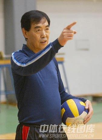 图文:原国家男排主帅戴廷斌逝世 毕生献身排球