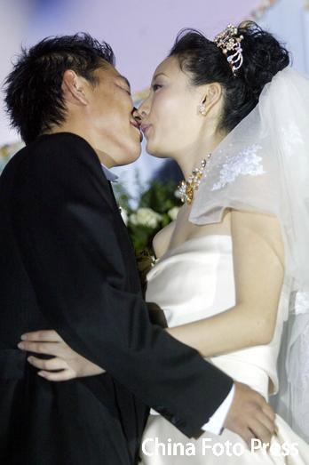 吕刚和新娘
