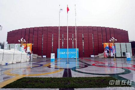 北京体育大学大门照片_北京体育大学