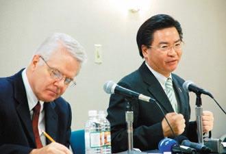 吴钊燮称台湾非常了解 美国没义务替台打仗