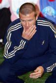图文:贝克汉姆足球游学日 始终保持脸部清洁