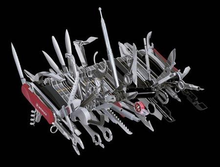 最新款式有87种工具和至少115种功能