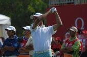 图文:高尔夫世界杯次轮开战 印度兰德哈瓦