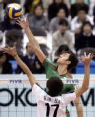 图文:男排世界杯保加利亚3-0韩国 轻吊对手