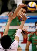 图文:男排世界杯保加利亚胜韩国 尼科洛夫扣球