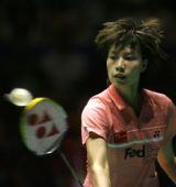 图文:羽毛球中国赛谢杏芳摘银 不敌大马一姐